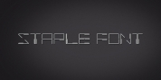 Staple font download