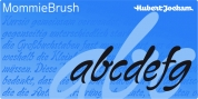 MommieBrush font download