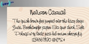 Nevison Casual font download