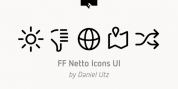 FF Netto Icons UI font download