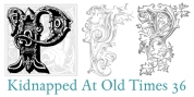Kidnapped At Old Times font download