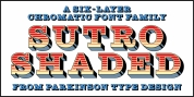 Sutro Shaded font download
