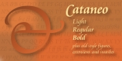 Cataneo BT font download
