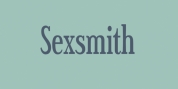 Sexsmith font download