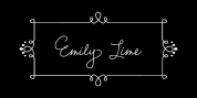 Emily Lime font download