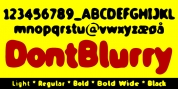 TPG DontBlurry font download