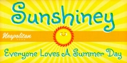 Sunshiney Pro font download