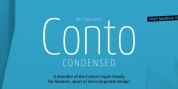 Conto Condensed font download