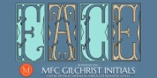 MFC Gilchrist Initials font download