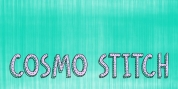 Cosmo Stitch font download