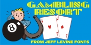 Gambling Resort JNL font download