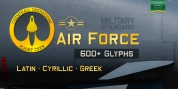 Air Force font download