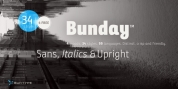 Bunday Sans font download