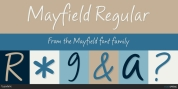 Mayfield font download