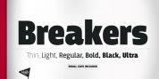 Breakers font download