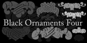 Black Ornaments Four font download