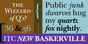 ITC New Baskerville font download