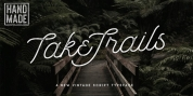 Take Trails font download