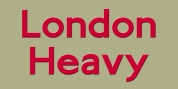 London Heavy font download