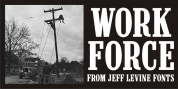 Work Force JNL font download