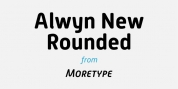 Alwyn New Rounded font download