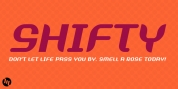 Shifty font download