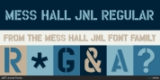 Mess Hall JNL font download