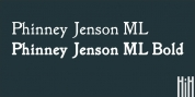 Phinney Jenson font download