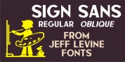 Sign Sans JNL font download