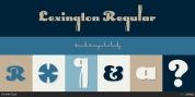 Lexington font download