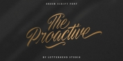 The Proactive font download