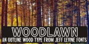 Woodlawn JNL font download