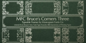 MFC Bruce Corners Three font download