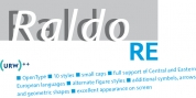 Raldo RE font download