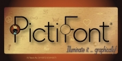 PictiFont - Thin font download