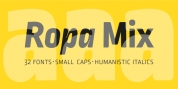 Ropa Mix Pro font download