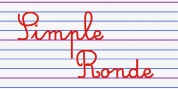 Simple Ronde font download