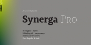 Synerga Pro font download