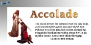 Accolade font download
