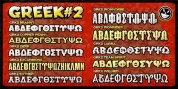Greek Font Set 2 font download