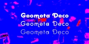 Geometa Rounded Deco font download