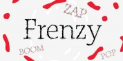 P22 Frenzy font download