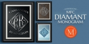MFC Diamant Monogram font download