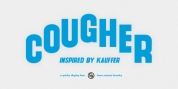 Cougher font download