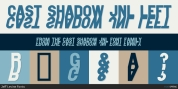 Cast Shadow JNL font download