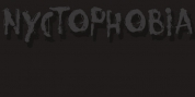 Nyctophobia font download