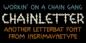 ChainLetter font download