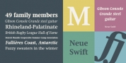 Neue Swift font download