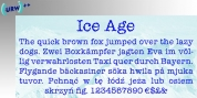 Ice Age font download