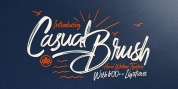 Casual Brush font download